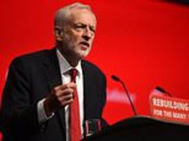 corbyn vows to end 'greed is good' capitalism and rein in the city