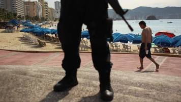 entire acapulco police force disarmed and under investigation