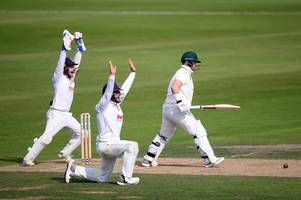 nottinghamshire on receiving end of wicket hat-trick as they end season with trent bridge defeat
