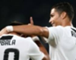 best is yet to come from ronaldo and dybala - allegri
