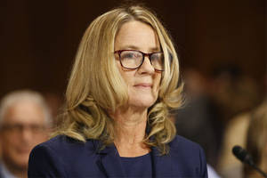 hollywood stands with christine blasey ford: 'dr. ford is telling the truth. it could not be more clear'