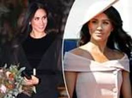 why meghan markle is turning to black as her go-to colour for official engagements