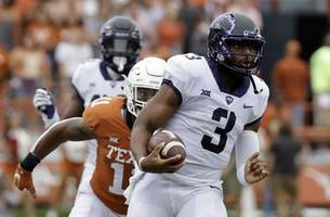 tcu confident in young robinson going into iowa state game