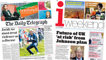 the papers: facebook breach and uk future 'at risk'