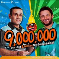 sehwag and afridi end feud on uc live chat