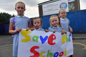 parents 'left in the dark' as school is threatened with closure