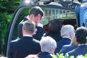 the tears and heartbreaking words of joe calzaghe as he said goodbye to enzo