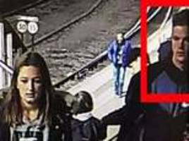 missing teen girl caught on cctv with man in edinburgh