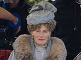 queen mary thought to be in new downton movie as fans point out similarity between royal and actress