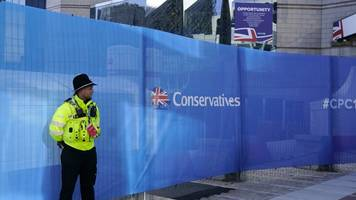 conservative party conference app reveals mp's numbers