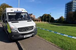police seal off nechells parkland after horror daylight double stabbing