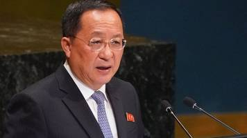 north korea 'won't disarm if sanctions continue', minister says