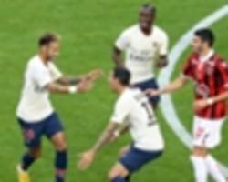 'it's a gift for me' - tuchel praises di maria after psg beat nice