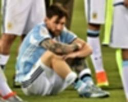 i would tell messi not to come back to the national team, says maradona