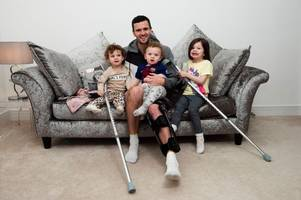rangers star jamie murphy opens up on moment he knew injury was serious and how he's coping with mental pressure