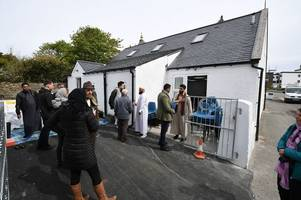 western isles' first mosque proves hit with tourists as hundreds flock to stornoway temple