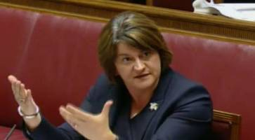 if arlene foster doesn't survive rhi, who would replace her as dup leader?