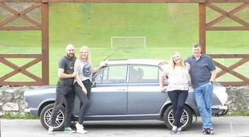 A long drive 'home' for Armagh family's 1964 Ford