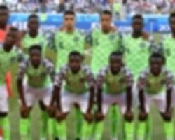 extra time: nigeria players celebrate independence day