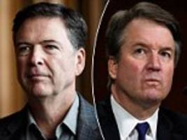 ex-fbi director james comey approves of kavanaugh probe