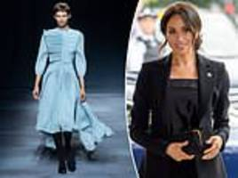 meghan markle's favourite designer givenchy at pfw