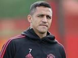 alexis sanchez fuming after being axed from man utd squad at west ham