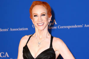 kathy griffin says she'll self-finance a special based on her 'laugh your head off' tour