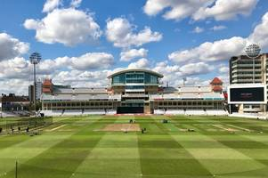 trent bridge tribute to six notts cricketers who perished in ww1