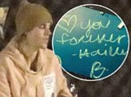 justin bieber calls hailey baldwin his 'wife' on trip to canadian museum before boarding private jet
