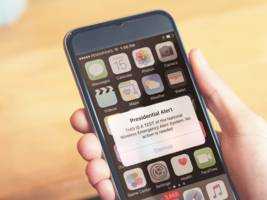 fema will send a test 'presidential alert' to your phone wednesday, and you can't turn it off
