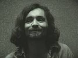 haunting footage of charles manson giving a coded message to his cult