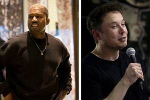 kanye west defends elon musk in bizarre tabletop rant: 'leave that man the f— alone'