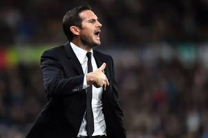 frank lampard gives his reaction to derby county's draw with norwich city