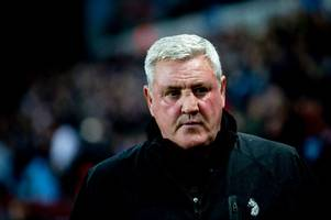 aston villa boss furious after cabbage attack as former stoke city man misses killer penalty