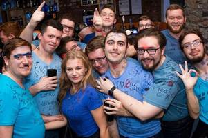 outrage at young tories' night of shame as students pictured in 'f*** the nhs' t-shirts