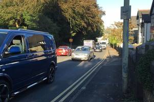 the most polluted street in bridgend has been revealed - and it breaches air pollution limits