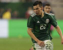 lozano, jimenez, araujo headline mexico roster for october friendlies, dos santos dropped