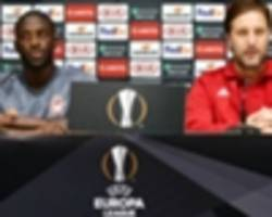 olympiacos' yaya toure fires ac milan warning ahead of their europa league clash