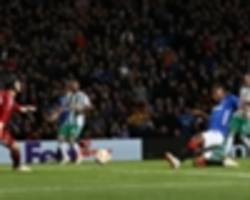 rangers 3 rapid vienna 1: late show gets gerrard up and running in europe