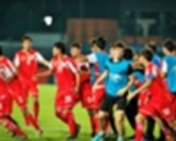 tajikistan 1 korea republic 1 (p. 7-6): goalkeeper mukhriddin the hero again as persian lions reach final