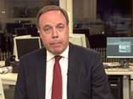 dodds: dup would rather have a no deal brexit than what the eu is offering