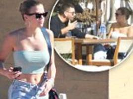 scott disick reunites with sofia richie after his nyc trip with kourtney as they enjoy sunny lunch