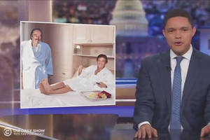 a 'devastated' trevor noah looks at just how much money trump actually got from his dad (video)