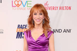 kathy griffin snipes at michael moore over 'stop hoping' tweet: 'michael…we lost'