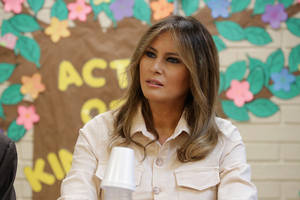melania trump to give first sit-down interview as first lady on '20/20'