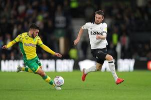 derby county's scott malone happy to take a point from a 'great game' with norwich city