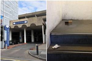 piles of human faeces, discarded needles and rough sleepers - the horrifying state of hull car park