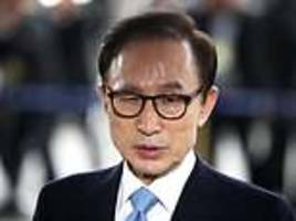 south korean ex-leader lee gets 15-year term for bribery