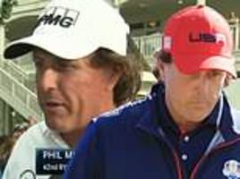ryder cup was a 'waste of my time': usa's phil mickelson bemoans 'brutal' rough at le golf national