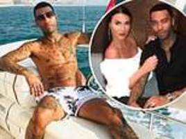 jermaine pennant 'hires luxury yacht in dubai to propose to wife alice goodwin again'